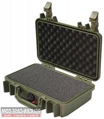 Pelican 1170 Watertight Case w/Lid & Foam, OD Green 1170-000