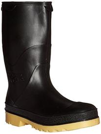 11714.02 Youths' Boot, Size 02, Black/Tan