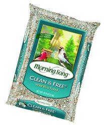 Morning Song 11958 Clean and Free Wild Bird Food, 5-Pound