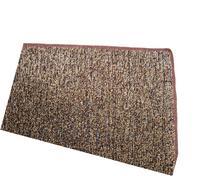 "12'X18' - BROWN / TAN 1/4"" Thick - 8 oz. Artificial Grass"