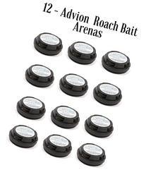12 Dupont Advion Cockroach Bait Arenas