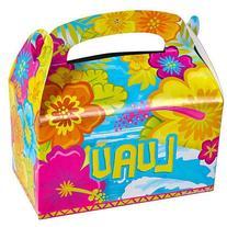 12 NEW Luau Party Boxes Box Treat Favor Box