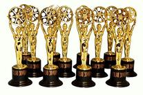 12 Movie Buff Gold Statues for Hollywood Movie Awards