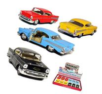 "12 pcs in Box: 5"" 1957 Chevy Bel Air Coupe 1:40 Scale"