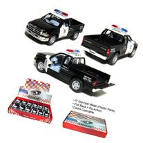 "12 pcs in Box: 5"" Dodge Ram Police Pickup Truck 1:44 Scale"