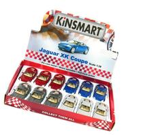 "12 pcs in Box: 5"" Jaguar XK Coupe 1:38 Scale  by Kinsmart"