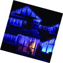 LEDWholesalers 16.4 Feet 120 LED Icicle Christmas Holiday
