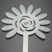 Kobwa 120 Tips Milky white Nail Art Design Acrylic Polish