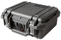 Ambient Weather 1200-BLACK 1200 Small Case by Pelican for