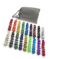 126 Polyhedral Dice By ASCT- Complete Sets Of Seven Dice In