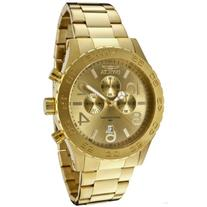 Invicta Men's 1270 Specialty Chronograph 18k Gold Ion-Plated
