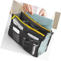 Bluetime 13 Pockets Bag in Bag Travel Handbag Organizer