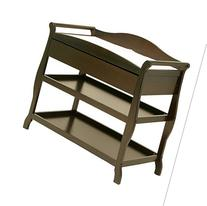 L.A.BABY 1305ES SLEIGH CHANGER WITH DRAWER ESPRESSO-