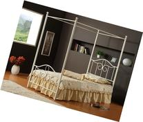 Hillsdale Furniture 1354BFP Westfield Canopy Bed Set, Full,
