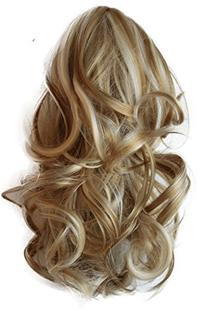 "PRETTYSHOP 14""Hair Piece Ponytail Extension Straight Light"