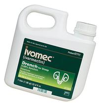 140921 Ivomec Parasiticide Drench for Sheep , 1 Liter