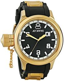 Invicta Men's 1436 18k Gold Ion-Plated Stainless Steel