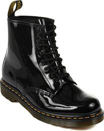 Dr. Martens Unisex 1460 Boot,Black Patent,9 UK/10 M US