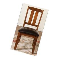 Sunny Designs 1470BC Route 66 Side Chair in Brown Cherry