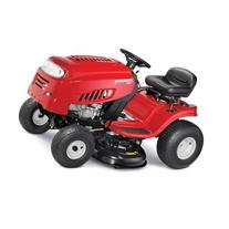 "42"" 15.5 HP Durable Riding Mower, Red"