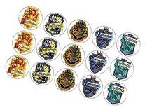 15 Harry Potter Hogwarts School & House Crests Edible Cookie
