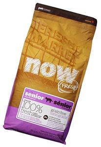 NOW! 152323 Fresh Grain Free Food for Senior Cats, 8-Pound