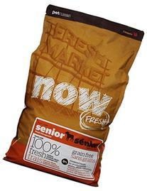 Now 152347 Fresh Grain Free Senior Dog Food, 12-Pound Bag