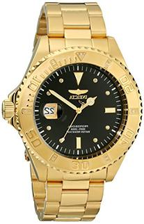 """Invicta Men's 15286 """"Pro Diver"""" 18k Yellow Gold Ion-Plated"""
