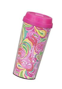 Lilly Pulitzer 154615 All Nighter Thermal Mug, Multicolor