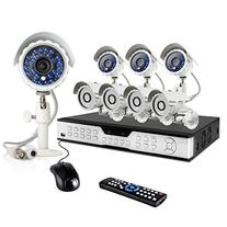 Zmodo 16 CH Economy Surveillance Camera System & 8 600TVL