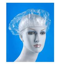 16 Clear Shower Caps Bath Hat Hair Lady Waterproof Reusable