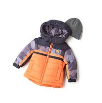 London Fog® Boys' 12M-16 Colorblock Puffer Jacket With