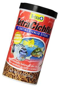 Tetra 16350 TetraCichlid Sticks, 11.30-Ounce, 1-Liter