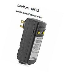 Leviton 16693 15A-120V Compact Automatic Reset Right Angle