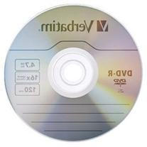 Verbatim 4.7GB up to 16X Branded Recordable DVD-R 10-Disc