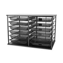 RUB1735746 - 12-Compartment Organizer with Mesh Drawers