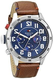 Tommy Hilfiger Men's Quartz Stainless Steel and Leather