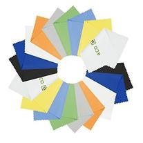 18 Microfiber Cleaning Cloths - For Cell Phones, Laptops,