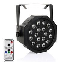 LaluceNatz Par Lights with RGB 18LEDs Wash Light by Remote
