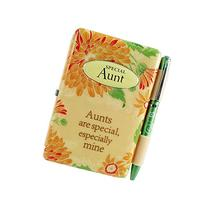 Flip Pads 1910007 Special Aunt Book Notepad Linen Gift