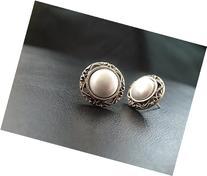 1920's Style Wedding Stud Earrings, vintage look, Victorian