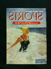 1954 Sports Illustrated August 30 Seaside Travel Very Good