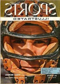 1955 Yogi Berra New York Yankees Sports Illustrated