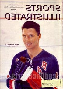 1959 Andy Bathgate New York Rangers Sports Illustrated