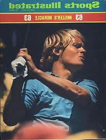 1973 Johnny Miller Golf No Label Sports Illustrated