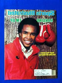 1982 Sports Illustrated November 15 Sugar Ray Leonard