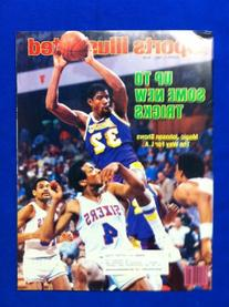 1984 Sports Illustrated March 5 Magic Johnson Los Angeles