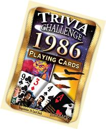 1986 Trivia Playing Cards: 31st Birthday Gift or 31st