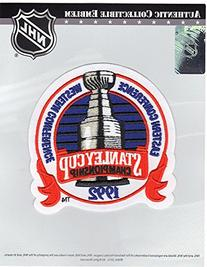 1992 NHL Stanley Cup Jersey Patch Pittsburgh Penguins vs.