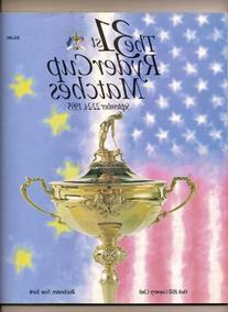 1995 31st Ryder Cup Matches Program